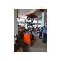 China Corrosion Resistance Manual Hydraulic Lift Orange With Heavy Duty Steel Construction on sale