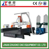 1300*2500mm Woodworking CNC Router With Mach3 Control Vacuum Pump ZKM-1325B Manufactures