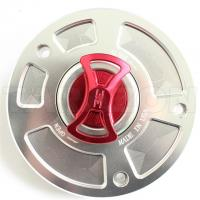 China Keyless Motorcycle Fuel Tank Cover Gas Cap With Aluminum Alloy Material on sale