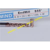 High Performance Long Square End Mill Bits With 20 mm Cutting Length Manufactures