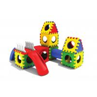 Plastic Outside Play Equipment , Kids Plastic Play Equipment Manufactures