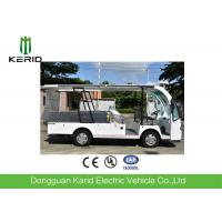 4 Seats Electric Utility Cargo Cart With Hydraulic Tail Lift 1000kg Payload Manufactures
