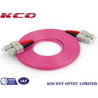 Buy cheap Duplex / Simplex Fiber Optic Patch Cord , Optical Fiber Patch Cable With FC / PC from wholesalers