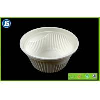 Eco Friendly Cornstarch Biodegradable Plastic Container , Food Trays Manufactures