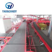 China Economic Automatic Flexible Belt Conveyor / Stainless Steel Rubber Belt Conveyor on sale