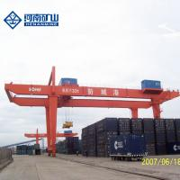 China Harbor 100t / 200t Auto Rail Mounted Container Gantry Crane Ce / Iso Listed on sale