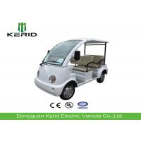 Tourist Sightseeing Small Electric Cars With Vacuum Tire For 4 Person Manufactures