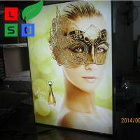 China Picture Light Box Frame Custom 28Mm Thin LED Light Display Box on sale