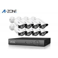 1440P IP CCTV Camera Kits , 8 Channel Nvr Kit 4Mp With Night Vision Manufactures