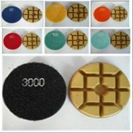 Resin Diamond Polishing Pads (XY-088-4B) Manufactures