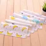 Mini Pure Cotton Handkerchiefs No Dye Face Cloths Safe For Sensitive Skin Manufactures
