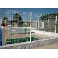 China High Security Glavanized and PVC Powder Coated Welded Wire Mesh Fence on sale