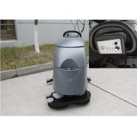 Different Size Industrial Hard Floor Cleaner Machine , Warehouse Floor Cleaning Machine Manufactures
