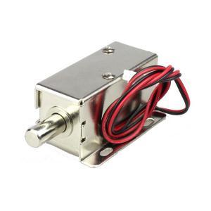 China DC 12V / 24V Electronic Cabinet Lock 0.2 Kg Smart Cabinet Bolt Lock on sale