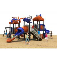 Toddlers Plastic Play Equipment , Plastic Toddler Playground For Amusement Manufactures