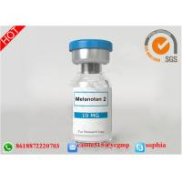 MT-2 / MT2 Raw Growth Hormone Peptides Powder Melanotan II For Sexual Impotence / Tanning Manufactures