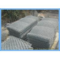 PVC Coated Welded Gabion Baskets And Cages With AS/NZS 4671 Compliant Manufactures