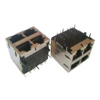 Integrated Magnetics 2x2 RJ45 750 Mating Cycles 7.7Kg Retention Strength Manufactures