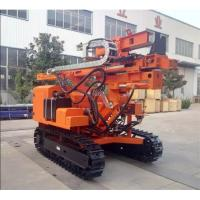 China 24 V Solar Pile Driver For Photovoltaic System Installation Sheet / Pile Driving Machine on sale