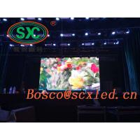 SMD ultra-thin P3 indoor rental LED display full color die-cast aluminum, high-density pixels, clear picture and good st Manufactures