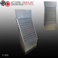 custom gorgeous corrugated paper floor display stand Manufactures