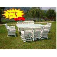 All Weather Wicker Patio Furniture 9pcs Rattan Garden Dining Set Outdoor Manufactures