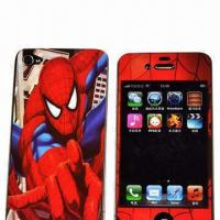Colorful Back and Front Screen Protector for iPhone, Repeatedly Sticker, No Trace Manufactures