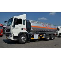 22cbm Fuel Oil Delivery Truck with 336 Hp engine , RHD optional Oil Tank Trailer Manufactures