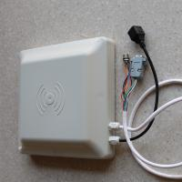 8Dbi Antenna Rfid Integrated Reader , Access Control Long Distance Rfid Reader Manufactures