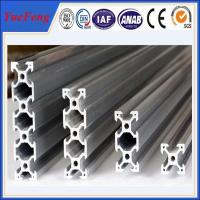Hot! 6063/6061 alloy Anodized Aluminum Rack profiles as customers drawings Manufactures