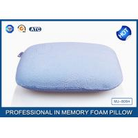 Traditional Sleep Design Memory Foam Nap Pillow With Customized Fabric Coat Manufactures