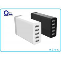 5 Port Multipe USB Charger Desktop Charging Station with 40W 8A for Smart Charge Manufactures