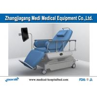 China Automatic Dialysis Chairs , Electric Blood Drawing Chair With Flat Bed Position on sale