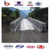 321-Type Bailey Bridge Single lane DSR, galvanized,temporary steel bridge ,truss bridge Manufactures