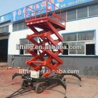 Accumulator truck - mounted scissor lift platform 4m 6m 8m working height for 300kg 500kg Manufactures