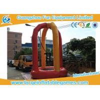 China 3m Diameter Euro Inflatable Bungee Trampoline , Outdoor Portable Inflatable Trampoline Rental on sale