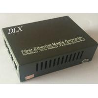 4channels 100/1000M Ethernet Fiber Optical Switch 4ch Gigabit Ethernet Fiber Switch Industry 1000M Ethernet Fiber Switch Manufactures