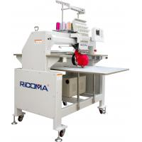 China Single head industrial embroidery machines , 12 needle computerized embroidery machine on sale