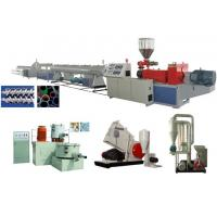 China UPVC Rigid Solid Pipe Extrusion Line on sale