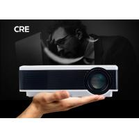 4.0 Inch Single LCD Projector Home Theater , Home Video Projector Full Color Manufactures