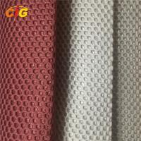 100% Polyester Home Textile Products Sandwish Mesh Fabric 150 cm Width Manufactures