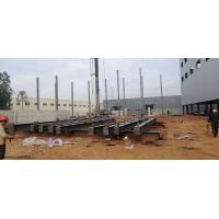 Prefabricated Workshop Steel Structure With Hot - Rolled Steel Profiles Manufactures