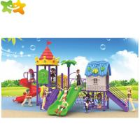 China Cheap Price Outdoor Playground Toys Amusement Park Plastic Slide For Children on sale