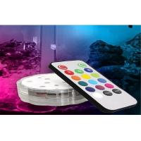 Mini Event / Home / KTV Decorative Submersible LED Lights With Remote Control Manufactures