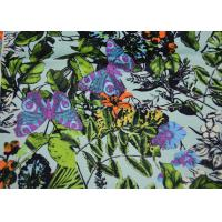 Durable Twill Polyester Fabric Heat Transfer Printed For Sport Shoes Manufactures