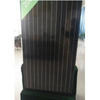 Quality 30V 260W Black Grade A Solar Panel Anti Reflective Glass For Home Lighting Indoor for sale
