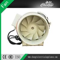 4, 5, 6, 8 Inch Inline Duct Fan Pipe Type Ventilating Exhaust Fan Manufactures