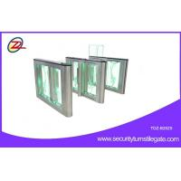 China Fast Speed Turnstile Security Systems With LED Light Two Way Control on sale
