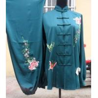China martial arts suits with China rose on sale