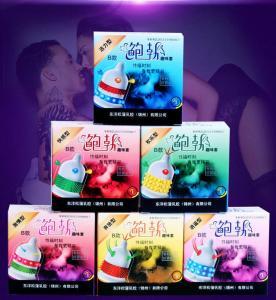 3PCS Condom sex toy for men High Sensation Class Female G-spot Vaginal Stimulation Safer Contraception Manufactures